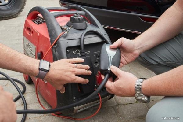 Буксировка, генератор? Пытаемся зарядить электромобиль кустарным способом