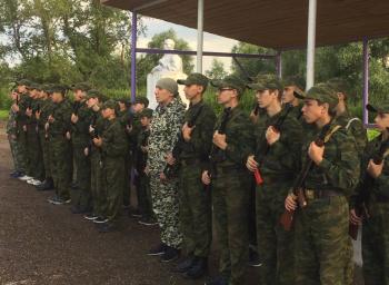 Photo of В Стерлитамакском районе состоялось торжественное открытие лагеря «Юный спецназовец»