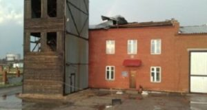 Разрушительный ураган пронесся в Башкирии