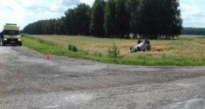 Смертельное ДТП под Стерлитамаком: Renault Logan при обгоне вылетел в кювет и опрокинулся