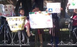 Видео: Дети из стерлитамакской гимназии организовали флешмоб