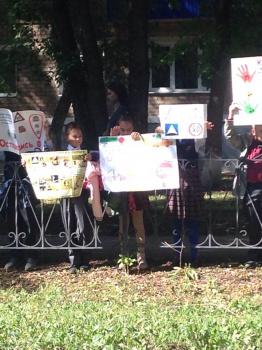 Photo of Видео: Дети из стерлитамакской гимназии организовали флешмоб