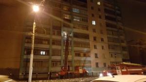 Photo of На ул. Мира в Стерлитамаке тушат пожар