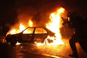 Photo of В Нефтекамске угонщик нечаянно сжег чужую машину
