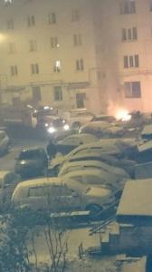 Photo of В Уфе, во дворе дома загорелась машина