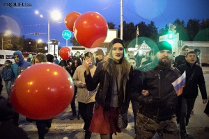Photo of С днем рождения, президент: в Уфе прошло собрание в поддержку Навального