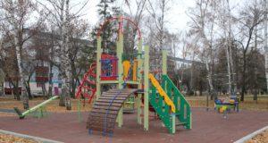 В центре Стерлитамака открыли детский спортивно игровой комплекс