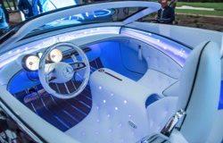 Mercedes в новом концептуальном электрокаре