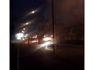 Photo of В Уфе загорелся пассажирский ПАЗик