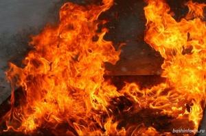 Photo of В Башкирии горел расселённый дом