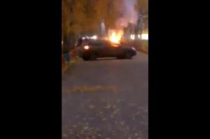 Photo of В Уфе на Гостином дворе горел автомобиль