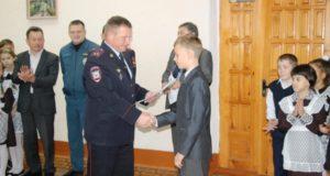 В Стерлитамаке шестиклассника наградили за спасение двухлетней девочки