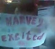 В Москве голые девушки поддержали Харви Вайнштейна