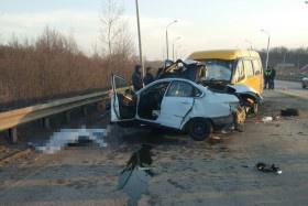 Photo of В Уфе в ДТП с автобусом погиб водитель Nissan