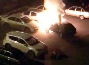 Photo of В Стерлитамаке водитель едва не сгорел заживо в собственной машине