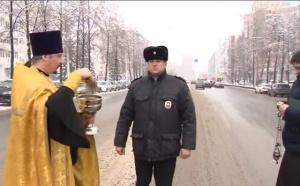 В Уфе освятили улицу Цюрупа, где насмерть сбили человека