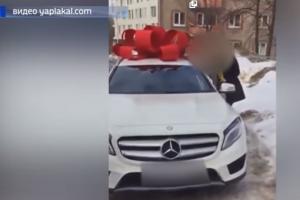 Photo of МВД Башкирии проверяет видео, на котором полицейский дарит возлюбленной элитное авто