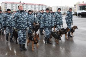 В Уфе прошел строевой смотр и развод патрульно-постовых нарядов Уфимского гарнизона полиции