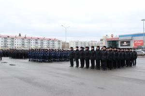 Photo of В Уфе прошел строевой смотр и развод патрульно-постовых нарядов Уфимского гарнизона полиции