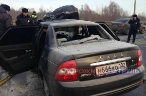 Photo of Водитель «Приоры», попавшей в ДТП на трассе Уфа-Шакша, был лишен водительских прав