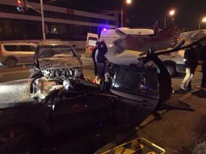 Photo of В Уфе в столкновении внедорожника и «Мицубиси Лансер» погибла пассажирка