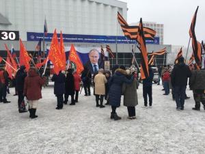 Photo of «Люблю только Путина»: активисты НОД провели в Уфе митинг в поддержку президента