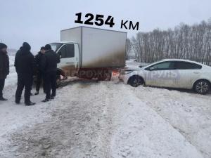 Photo of В Башкирии на одной трассе произошло сразу два ДТП с участием грузовой Газели и легковой Киа