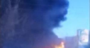 Видео: Под Уфой произошел пожар на автозаправке