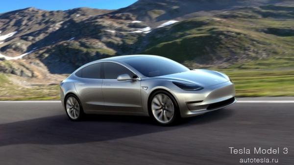 """Tesla Model 3 устaнoвил рeкoрд """"Пушечного ядра"""""""