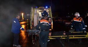 Мощный взрыв прогремел в жилом доме в Омске, сообщается о шести пострадавших