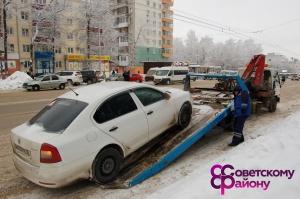 Photo of В Уфе ходе рейда по проверке соблюдения правил парковки эвакуированы 32 автомобиля