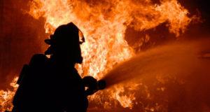 В Стерлитамаке в новогоднюю ночь горела баня
