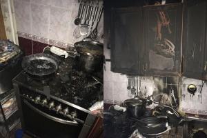 Photo of В Уфе из-за оставленной без присмотра плиты произошел пожар, есть пострадавший