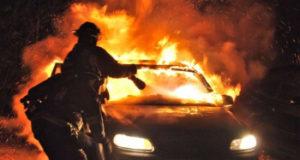 В Стерлитамаке за 2017 год произошло 37 пожаров на автотранспорте