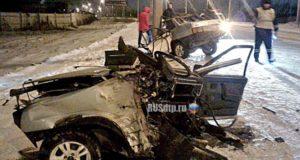 В Стерлитамаке мясник умер, врезавшись на автомашине в столб