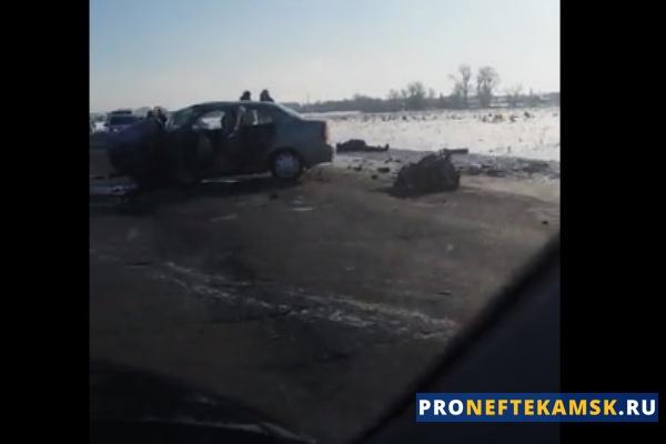 Photo of Смертельная авария на трассе Нефтекамск-Арлан: столкнулись две легковушки, единственный человек умер