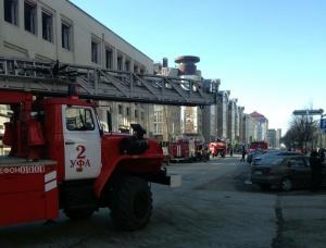 Photo of В Уфе сгорел ресторан в «Галерее ART», из огня спасено 250 человек