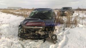 Photo of Под Уфой автоледи не справилась с управлением из-за сколькой дороги и опрокинула машину в кювет