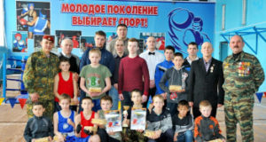 В Стерлитамакском районе спецназовцы провели боксёрский турнир и посетили ветеранов Величайшей Отечественной войны