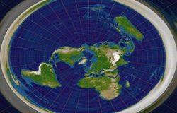 Теория плоской земли или доказательство наличия плоского ума?