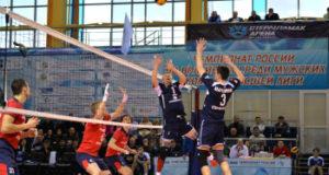 Волейбольный клуб Тархан обыграл команду Академия Казань со счетом 3:0