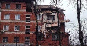 Несколько человек пострадали при взрыве газа и обрушении дома в Краснодаре