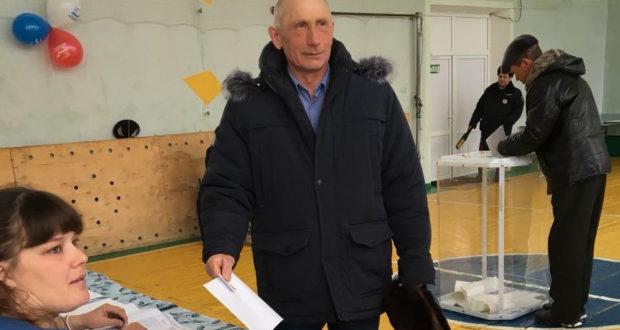 «Двойник» Путина проголосовал в РБ
