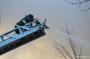 Photo of В Уфе 30 огнеборцев выехали на пожар в здании исправительной колонии