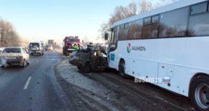 Единственный человек умер в массовом ДТП с ролью автобуса на трассе М 7 в РБ