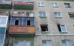 Photo of В Уфе из-за пожара в пятиэтажке эвакуировали людей