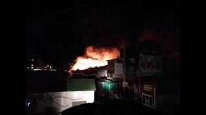 Photo of Пожар на центральном рынке в Нефтекамске локализован