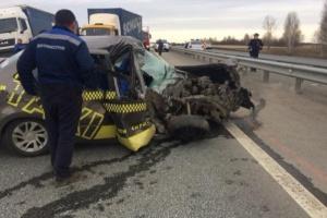 Photo of На трассе неподалеку от Уфы такси врезалось в экскаватор, стала жертвой юная пассажирка