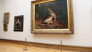 Photo of В Третьяковской галерее вандал напал на картину «Иван Грозный и сын его Иван 16 ноября 1581 года»