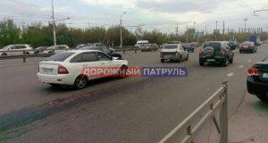 В Уфе в ДТП с участием автомобилей «Лада Калина» и «Лада Приора» пострадал несовершеннолетний